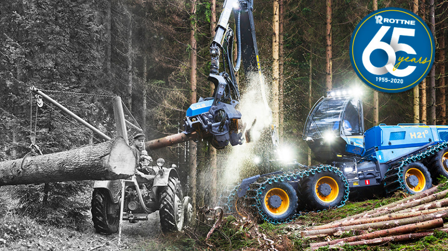 Rottne – 65 years of innovations and development
