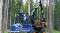 See how the F10 (version B) works in the forest