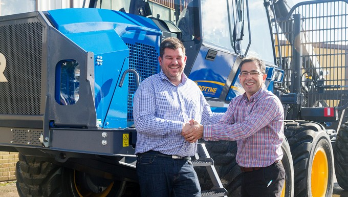 Rottne Industri enters the South American market