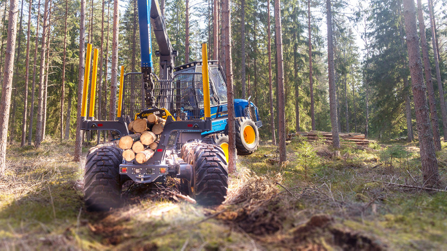 ROTTNE F13<sup>D</sup> – THE WORLD'S MOST VERSATILE FORWARDER